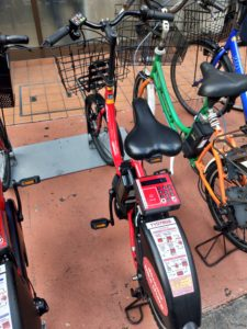 "Uber Eats(ウーバーイーツ)のレンタル自転車!格安で電動自転車""赤チャリ""を借りる【ドコモ..."